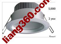 square adjustable downlight