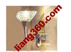кристалл настенный светильник